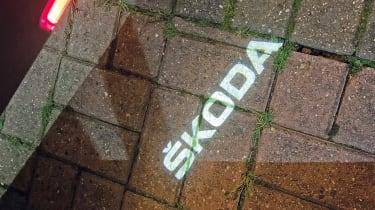 Skoda Superb iV long termer - second report puddle light