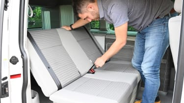 Volkswagen California Ocean long termer - first report folding seats