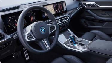 BMW i4 - cabin