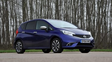Nissan Note static