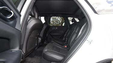 Volvo XC60 long-term test - back seats