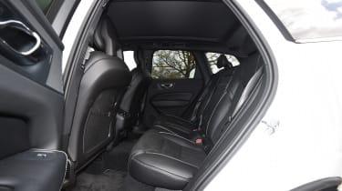 Volvo XC60 long-term test - back seats