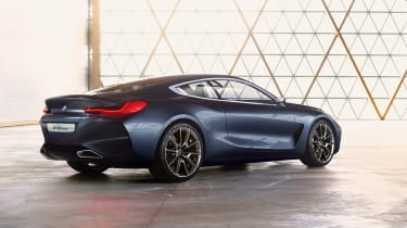 BMW Concept 8 Series - rear studio static
