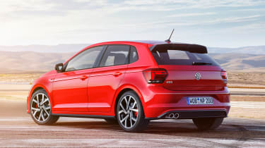 New Volkswagen Polo GTI - side/rear