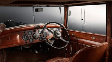 Bentley Mulsanne special - steering wheel