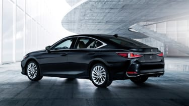 Lexus ES - rear black