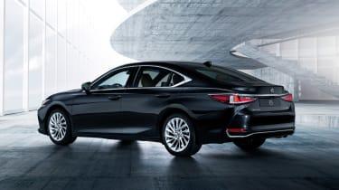 Lexus ES - rear black