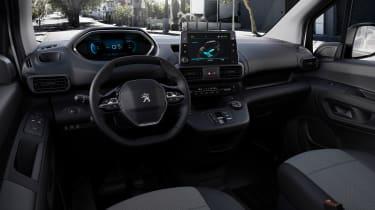 Peugeot e-Partner - interior