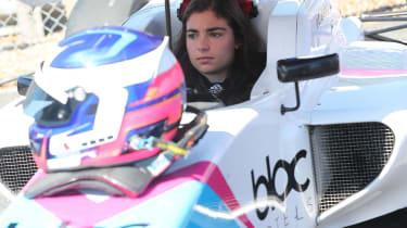 Jamie Chadwick - F3 grid