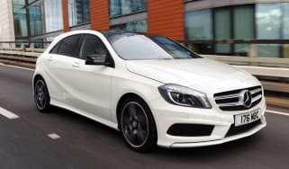 Mercedes A220 CDI AMG Sport front action