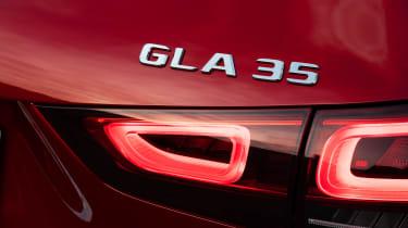Mercedes-AMG GLA 35 - GLA 35 badge