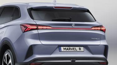 MG Marvel R - rear lights