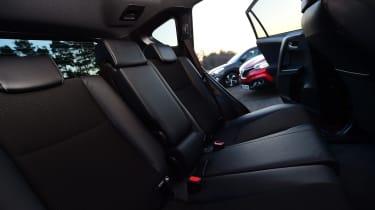 Toyota RAV4 vs Renault Kadjar vs Hyundai Tucson - rear space