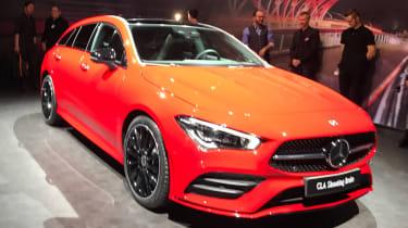 Mercedes CLA Shooting Brake - Geneva front static