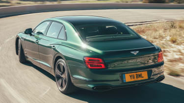 Bentley Flying Spur - rear cornering