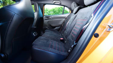 Renault Megane RS - rear seats