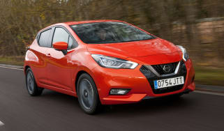 New Nissan Micra - front