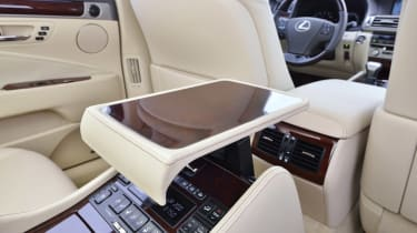 Lexus LS 600h rear seats