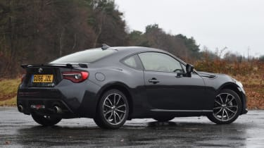 Used Toyota GT86 - rear