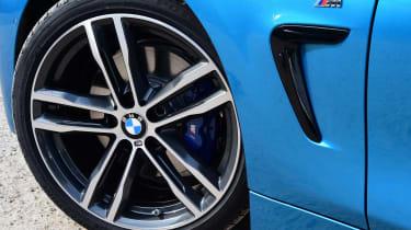 BMW 420d M Sport - wheel detail