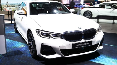 BMW 3 Series - Paris front static