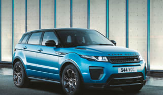 Land Rover Evoque Landmark front quarter