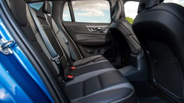 Volvo V60 T8 Twin Engine - rear seats