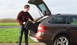 Skoda Octavia Scout long-termer - Otis final report header