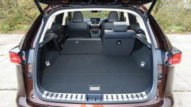 Lexus NX 300h - boot