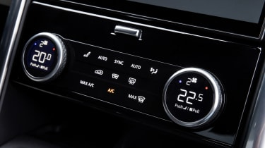 Land Rover Discovery - centre console
