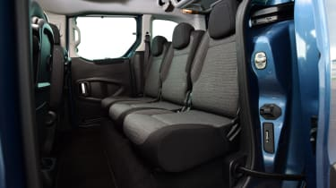 Citroen Berlingo 2016 - rear seats