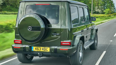 Mercedes G 350 d - rear tracking