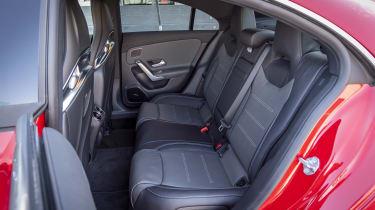 Mercedes-AMG CLA 45 S - rear seats