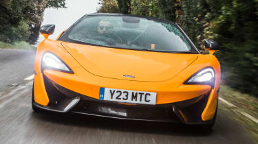 Mclaren 570s review - road front