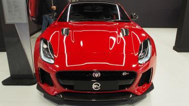 Jaguar F-Type SVR - Goodwood full front