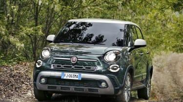 Fiat 500L - front