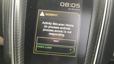 McLaren 570GT long term test first report - problems