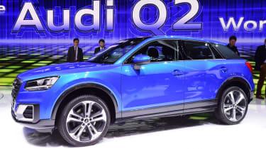 Audi Q2 - Geneva show side