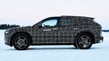 BMW iNEXT teaser - side