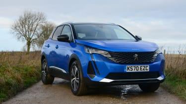 New Peugeot 3008 facelift 2020 static
