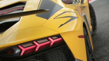 Lamborghini Aventador SV 2015 - rear lights