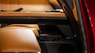 Fisker EMotion - interior detail