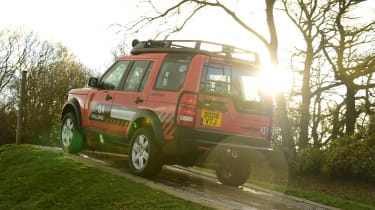 Land Rover Discovery Mk3 - rear