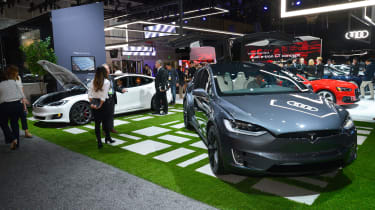 Tesla - LA Motor Show
