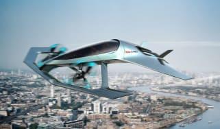Aston Martin Vision Volante Concept - in the air