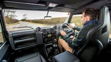 Land Rover Defender Works V8 - James Batchelor