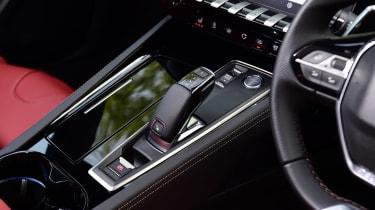 Peugeot 508 SW - centre console