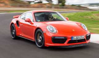 Porsche 911 Turbo S 2016 - front cornering cropped