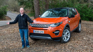 Land Rover Discovery Sport long-term - second report header