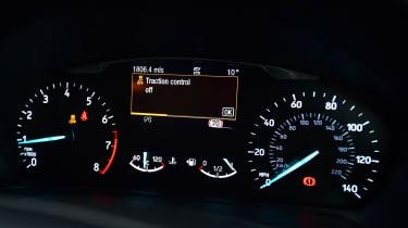 Ford Fiesta ST-Line - dials